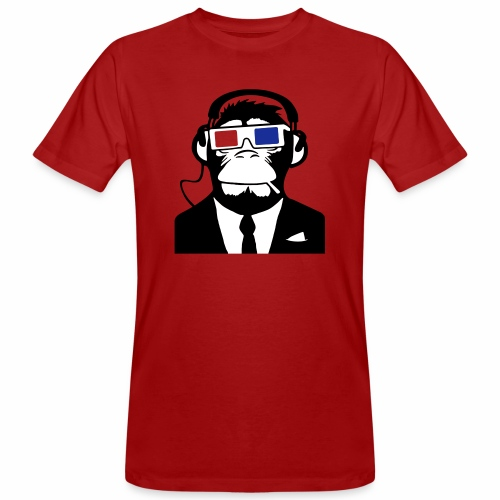 Soundmonkey - Männer Bio-T-Shirt