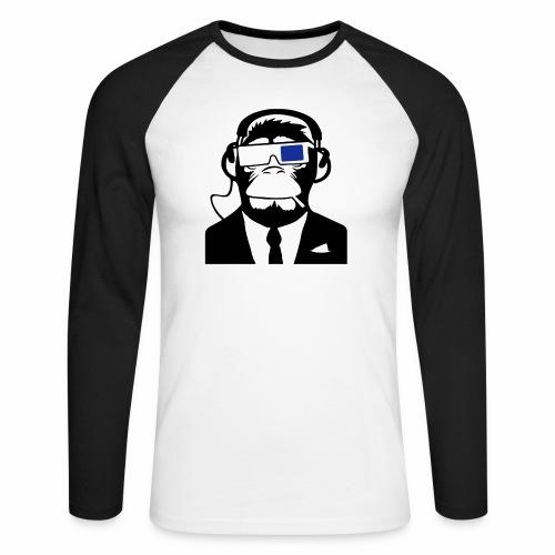 Soundmonkey - Männer Baseballshirt langarm