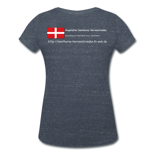 Frauen Bio-T-Shirt mit V-Ausschnitt von Stanley & Stella - Frauen T-Shirt