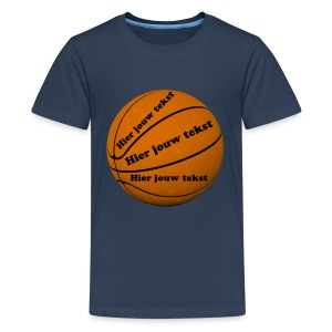 Basketbal - Teenager Premium T-shirt