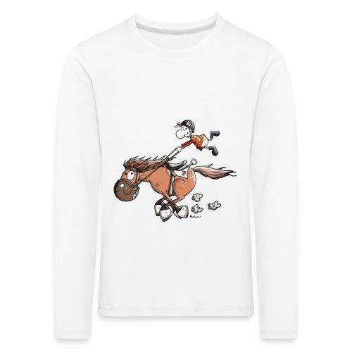 T-shirt enfant manches longues - T-shirt manches longues Premium Enfant