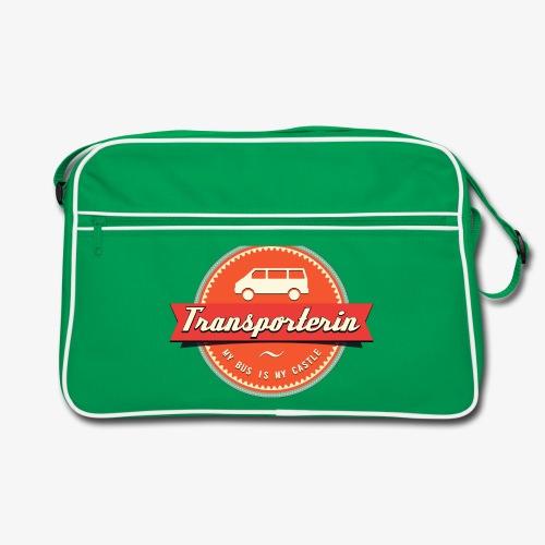 Transporterinnen-Tasche - Retro Tasche