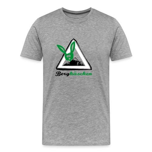Berghäschen (rot) - Männer Premium T-Shirt