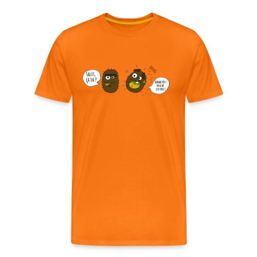 Le kiwi qui parle - T-shirt Premium Homme