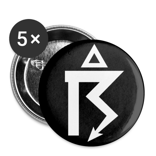 Rune badge - Buttons small 1''/25 mm (5-pack)
