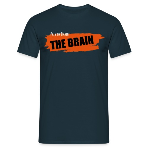 Pain of Brain - The Brain - Männer T-Shirt