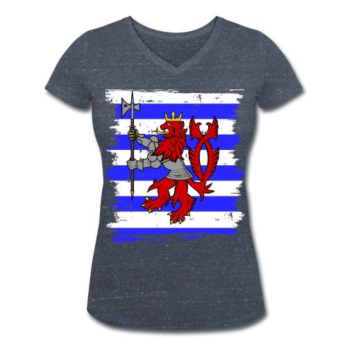 Knights of Luxemburg Tshirts - Women - Women's Organic V-Neck T-Shirt by Stanley & Stella