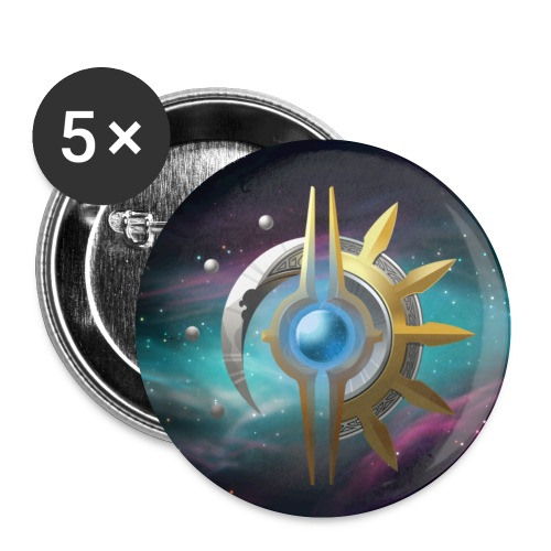5x The Divine Buttons - Buttons small 1''/25 mm (5-pack)