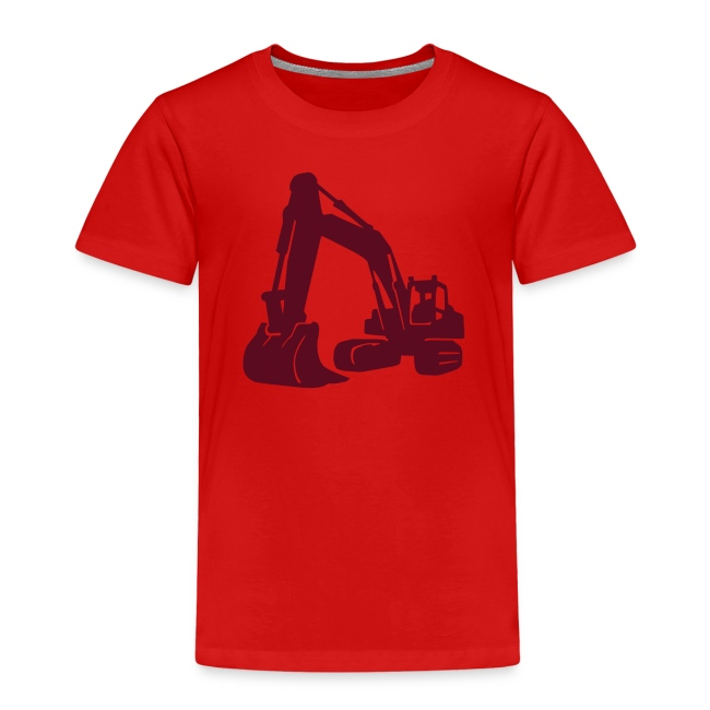 Kinder T-Shirt: Bagger
