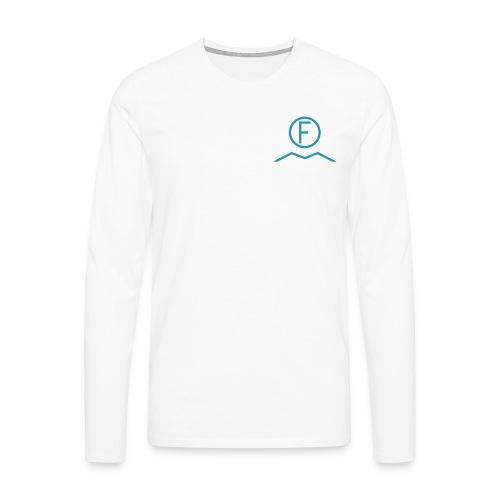 IF hvit - Premium langermet T-skjorte for menn