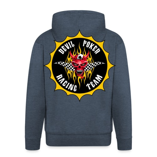 Devil Poker Racing Team - Men's Premium Hooded Jacket