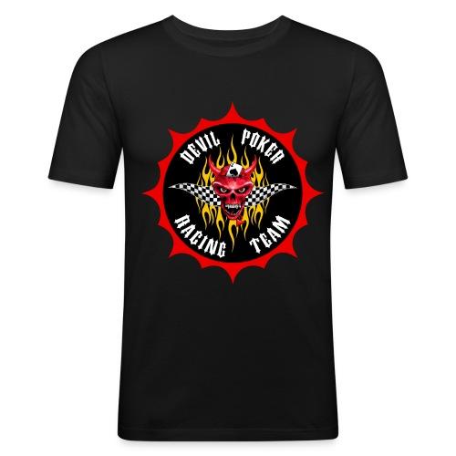 Devil Poker Racing Team - Men's Slim Fit T-Shirt