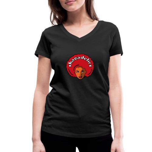 Shagadelics Woman - Frauen Bio-T-Shirt mit V-Ausschnitt von Stanley & Stella