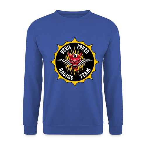 Devil Poker Racing Team - Men's Sweatshirt