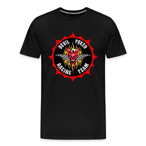 Devil Poker Racing Team - Men's Premium T-Shirt