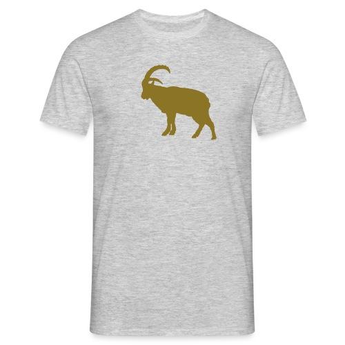 Steinbock Flex Gold - Männer T-Shirt