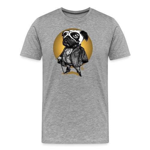 A pug's life - T-shirt Premium Homme