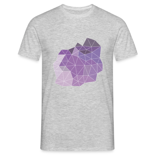 Purple Crystal - T-skjorte for menn