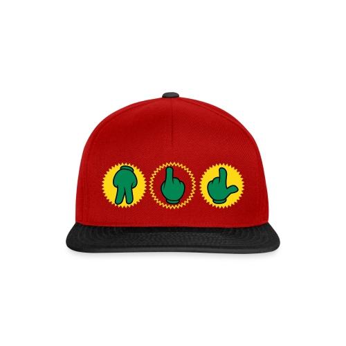 StreetSigns Cap R - Snapback Cap
