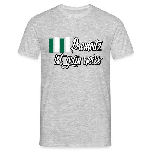 Shirt - Premnitz grün-weiss - Männer T-Shirt