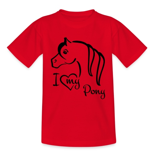 kids shirt I ♥ my pony - Kids' T-Shirt