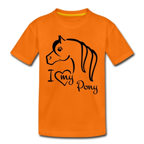 kids shirt I ♥ my pony - Kids' Premium T-Shirt