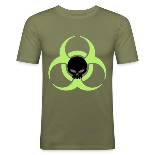 Danger Skull Male Slim-Fit - slim fit T-shirt