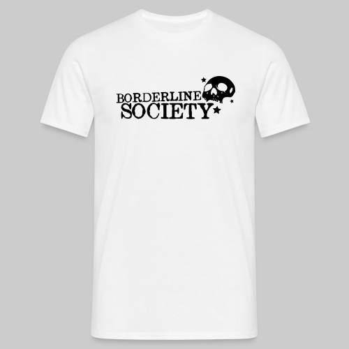 T-Shirt Skull Big White - Männer T-Shirt
