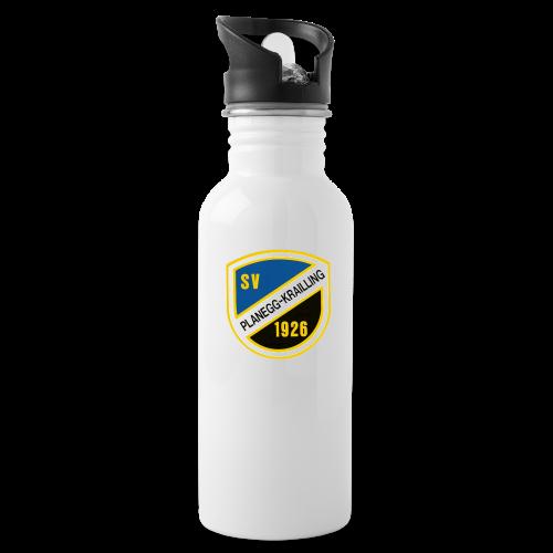 Alu-Trinkflasche SVP mit Vereinswappen - Trinkflasche