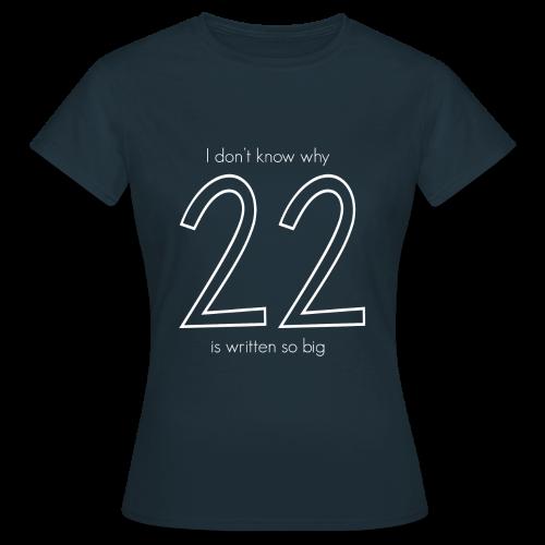 22 - T-skjorte for kvinner