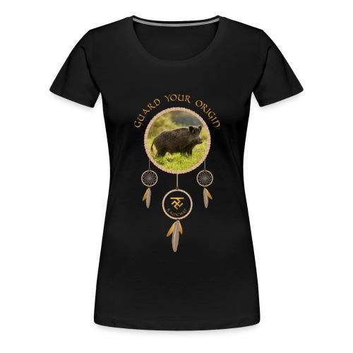 GUARD YOUR ORIGIN - Frauen Premium T-Shirt