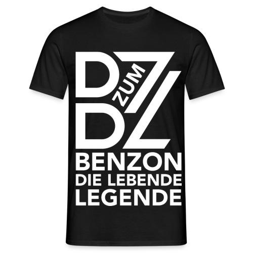 BenZon Shirt Legende Schwarz - Männer T-Shirt
