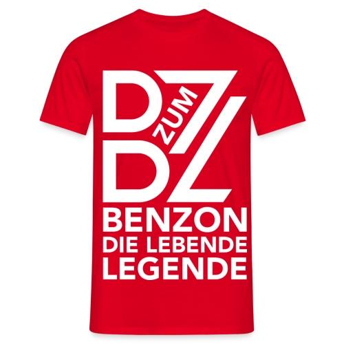 BenZon Shirt Legende rot - Männer T-Shirt