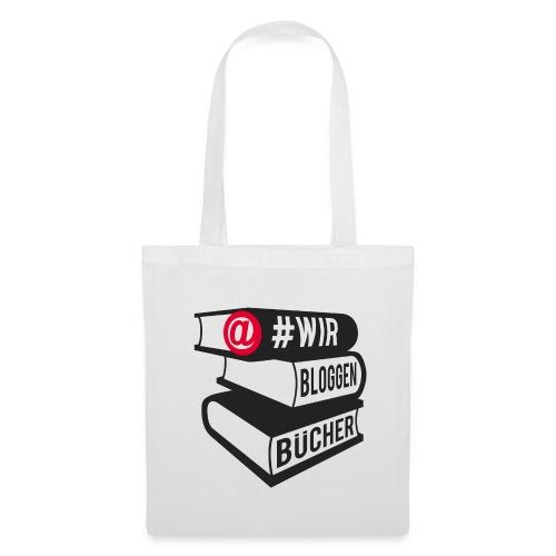 #wirbloggenbücher Beutel - Stoffbeutel