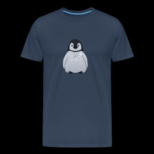 Pinguin Shirt (blau) - Männer Premium T-Shirt