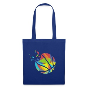 Basketball farbig abstrakt Explosion - Tote Bag