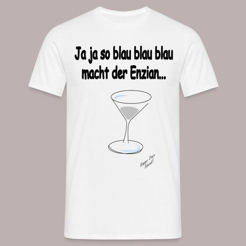 Enzian - Männer T-Shirt