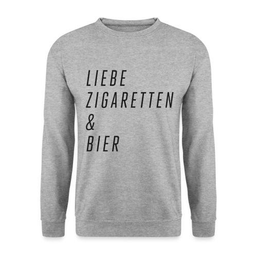 Liebe, Zigaretten & Bier - Pullover - Männer Pullover