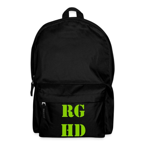 RGHD Black Bag - Backpack