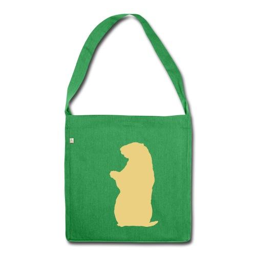 Murmeltier Flex - Schultertasche aus Recycling-Material