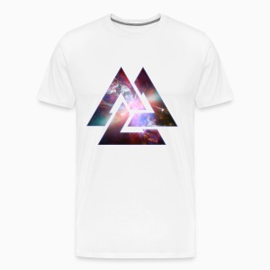 Galaxy Triangles - T-shirt Premium Homme