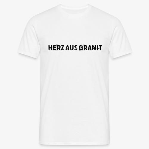 Herz aus Granit Fan Shirt - Männer T-Shirt