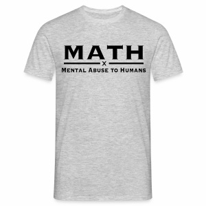 Math - Mannen T-shirt
