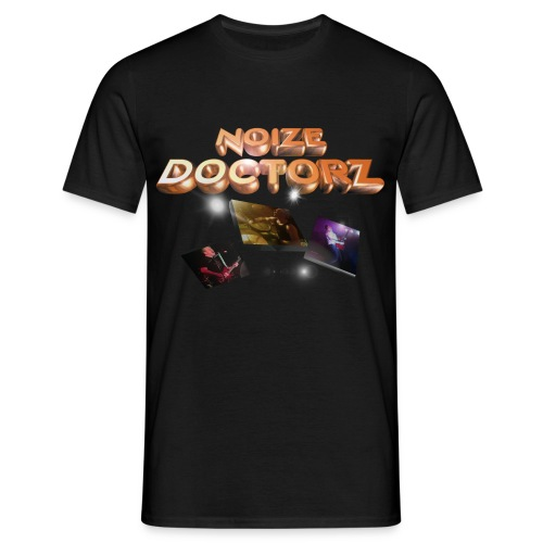 noize doctorz new logo black tee - Men's T-Shirt