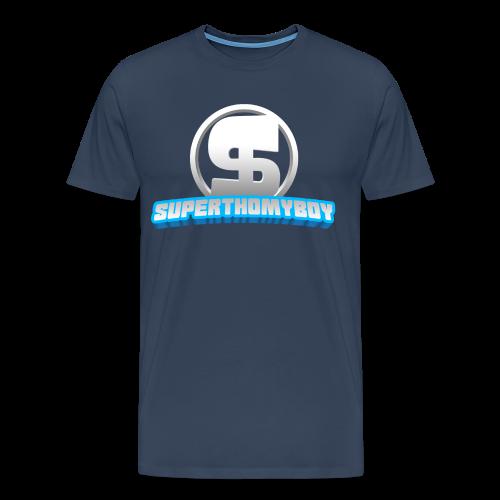 Volwassen T-shirt SuperThomyboy logo - Mannen Premium T-shirt