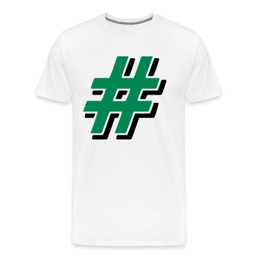# Männer Premium T-Shirt (weiß) - Männer Premium T-Shirt