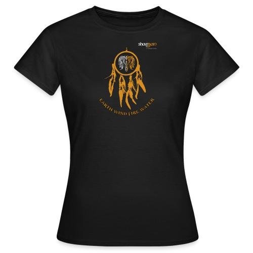 T shirt Femme médaillon Dreamcatcher - T-shirt Femme