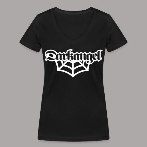 DARKANGEL / T-SHIRT LADY #1 - Vrouwen bio T-shirt met V-hals van Stanley & Stella