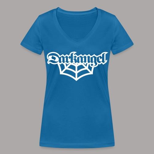 DARKANGEL / T-SHIRT LADY #3 - Vrouwen bio T-shirt met V-hals van Stanley & Stella