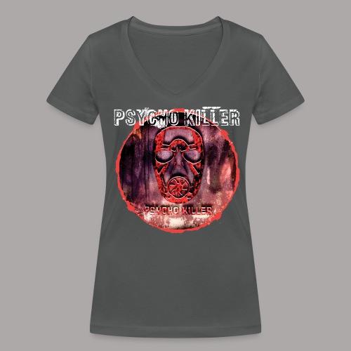PSYCHO KILLER / T-SHIRT LADY #3 - Vrouwen bio T-shirt met V-hals van Stanley & Stella